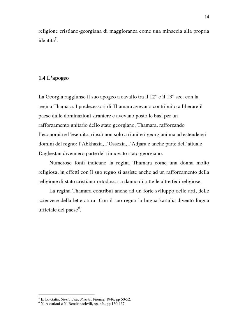 Anteprima della tesi: Dal collasso ad una lenta rinascita. La Georgia dal 1989 al 2000, Pagina 11