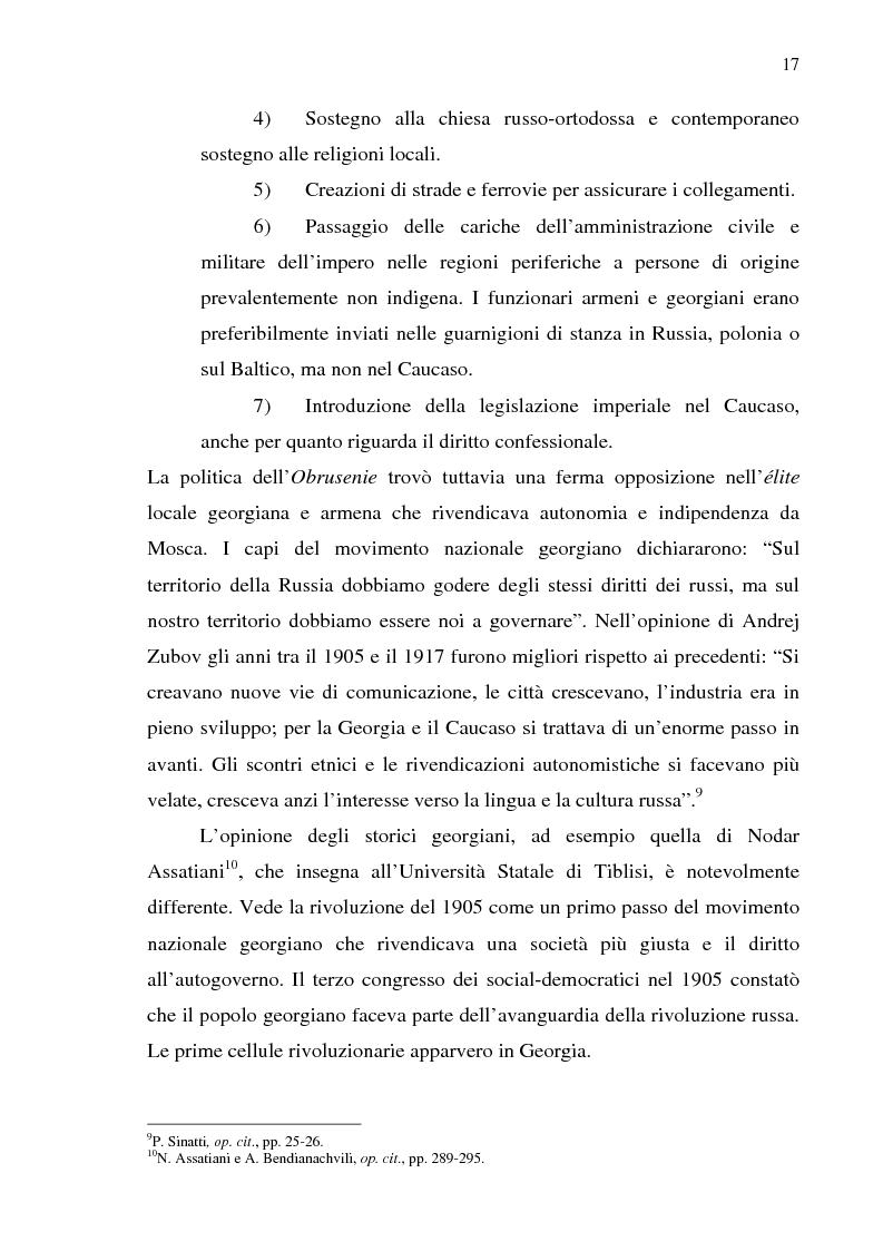 Anteprima della tesi: Dal collasso ad una lenta rinascita. La Georgia dal 1989 al 2000, Pagina 14