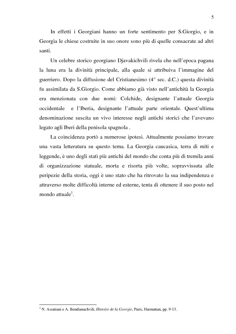 Anteprima della tesi: Dal collasso ad una lenta rinascita. La Georgia dal 1989 al 2000, Pagina 2