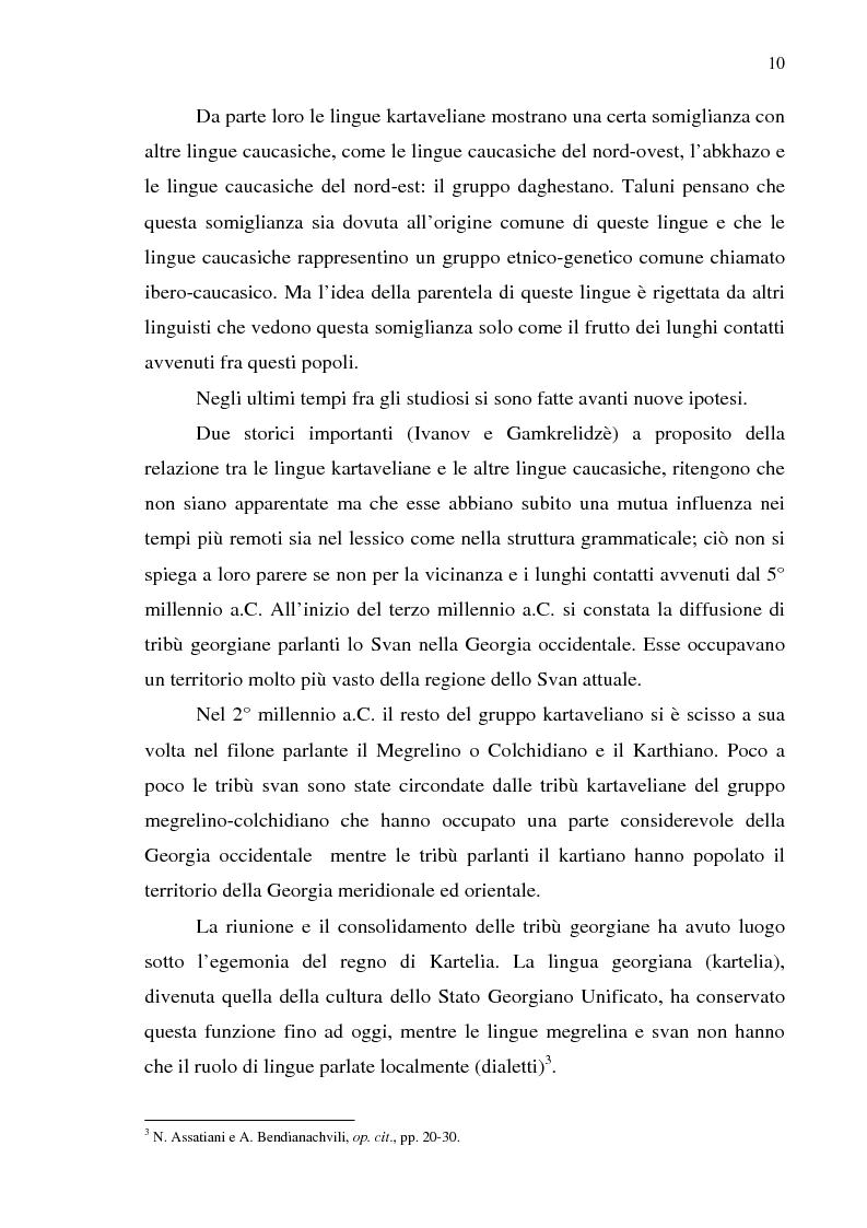 Anteprima della tesi: Dal collasso ad una lenta rinascita. La Georgia dal 1989 al 2000, Pagina 7