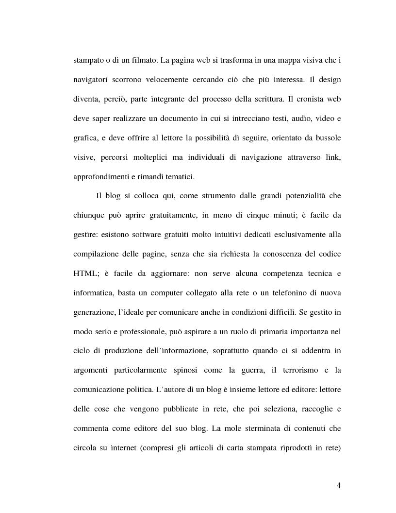Anteprima della tesi: La politica della blogosfera, Pagina 3