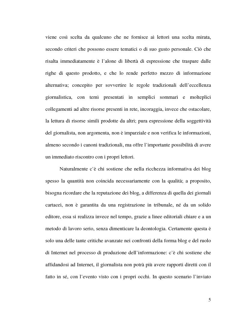 Anteprima della tesi: La politica della blogosfera, Pagina 4