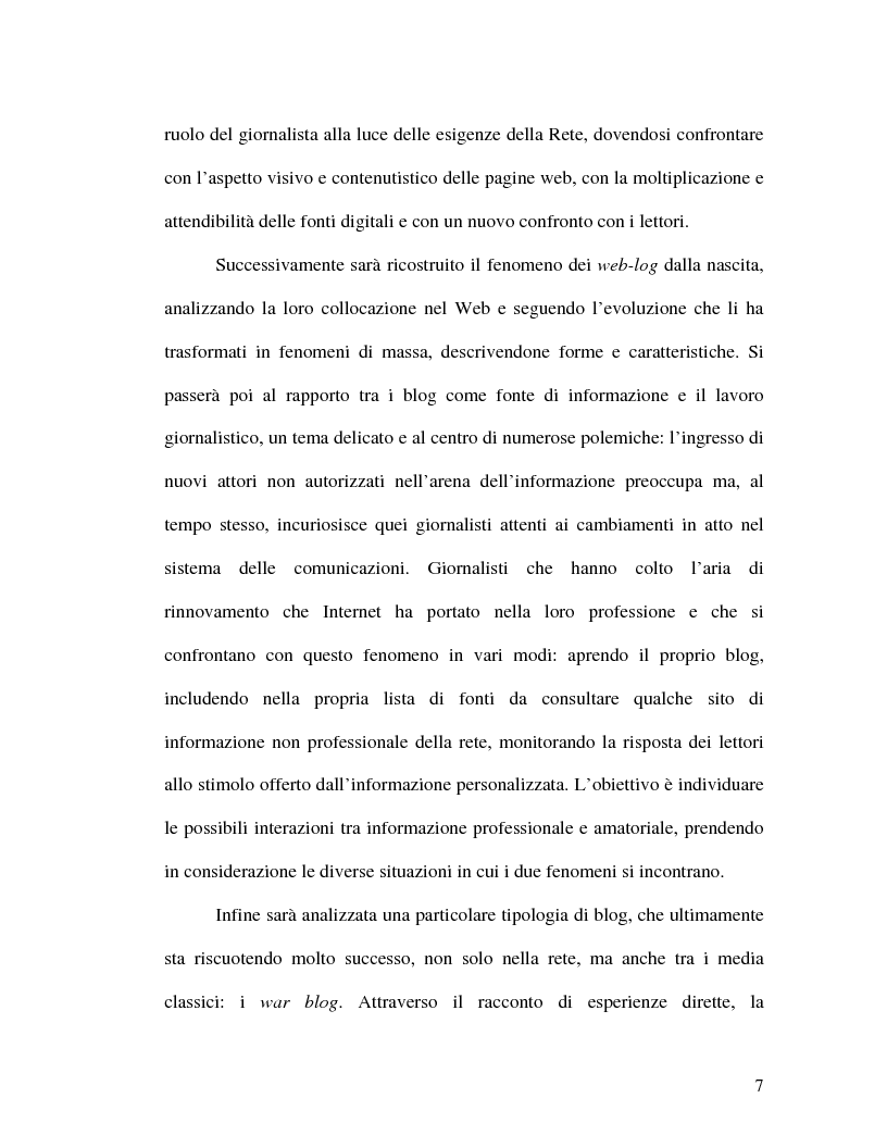 Anteprima della tesi: La politica della blogosfera, Pagina 6