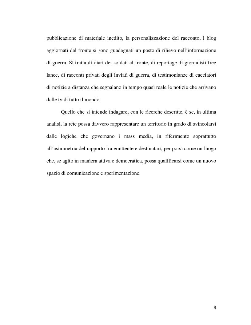 Anteprima della tesi: La politica della blogosfera, Pagina 7