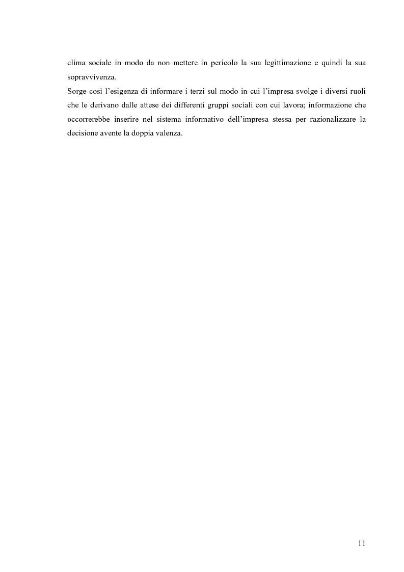 Anteprima della tesi: Gestione di impresa e bilancio sociale: il caso della Monte d'Oro s.c., Pagina 7