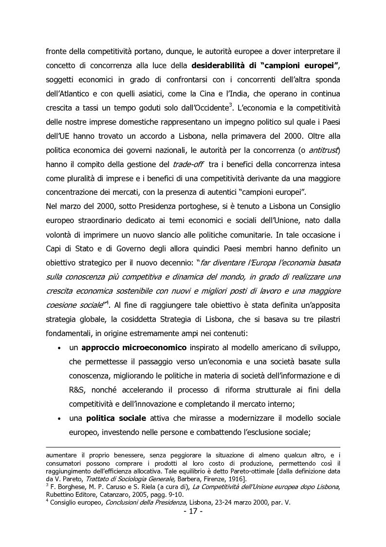 Anteprima della tesi: L'Italia e il rilancio della Strategia di Lisbona - Il caso della Regione Veneto, Pagina 3