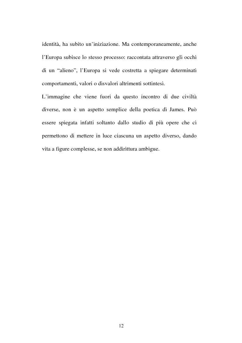 Anteprima della tesi: Italian Versions of - The real thing - by Henry James, Pagina 11