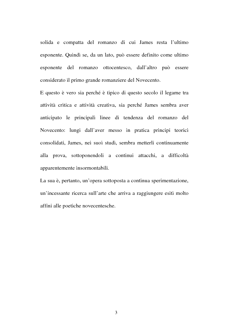 Anteprima della tesi: Italian Versions of - The real thing - by Henry James, Pagina 2