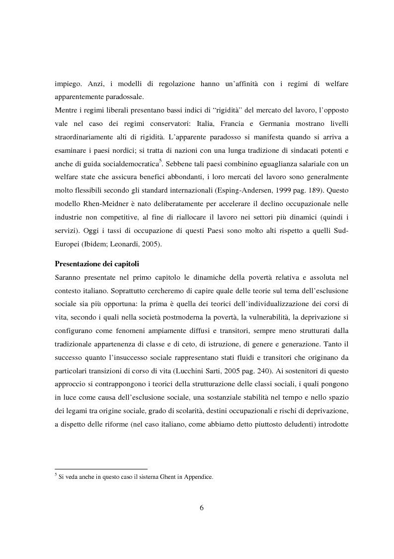 Anteprima della tesi: Reddito minimo di inserimento un'occasione mancata, Pagina 3