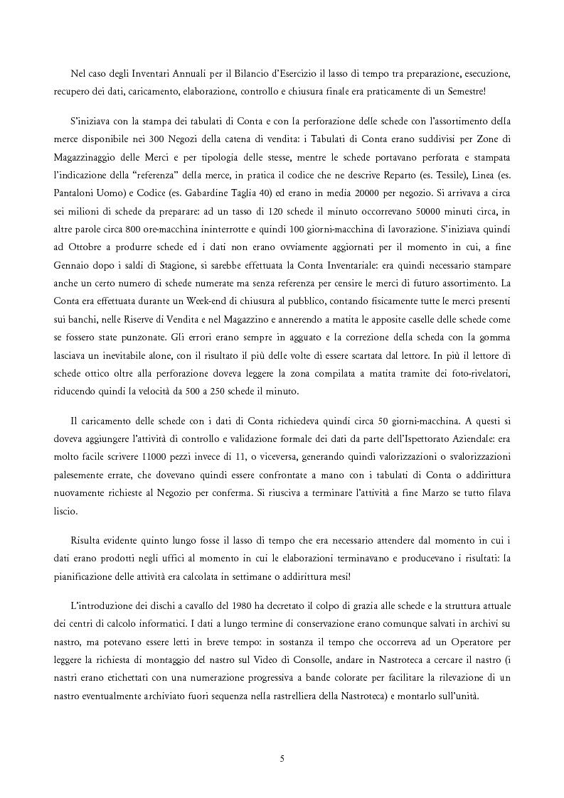 Anteprima della tesi: Analisi e Progetto di un Ambiente Integrato per la Schedulazione di Elaborazioni Orientato alla gestione dei Sistemi Informativi di una Azienda Commerciale, Pagina 3