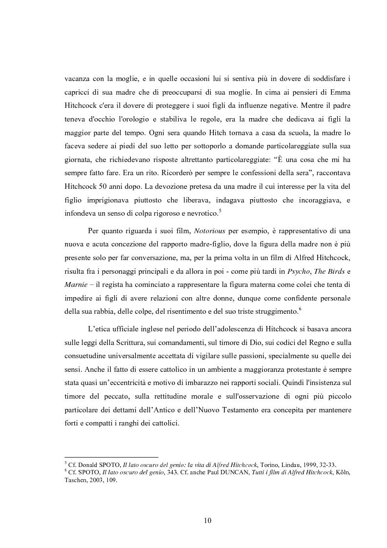 Anteprima della tesi: L'immagine della morale nei film di Alfred Hitchcock, Pagina 6