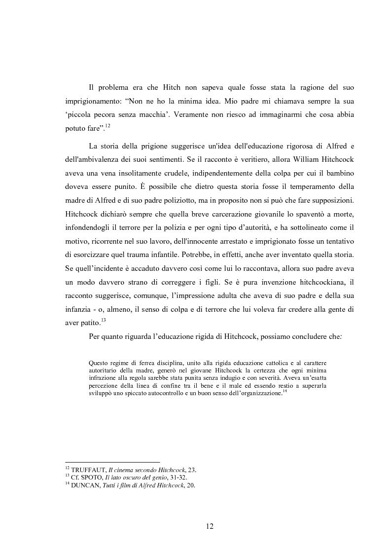 Anteprima della tesi: L'immagine della morale nei film di Alfred Hitchcock, Pagina 8