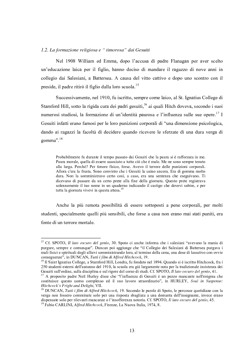 Anteprima della tesi: L'immagine della morale nei film di Alfred Hitchcock, Pagina 9