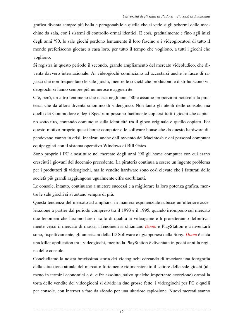 Anteprima della tesi: L'economia dei videogame, Pagina 7