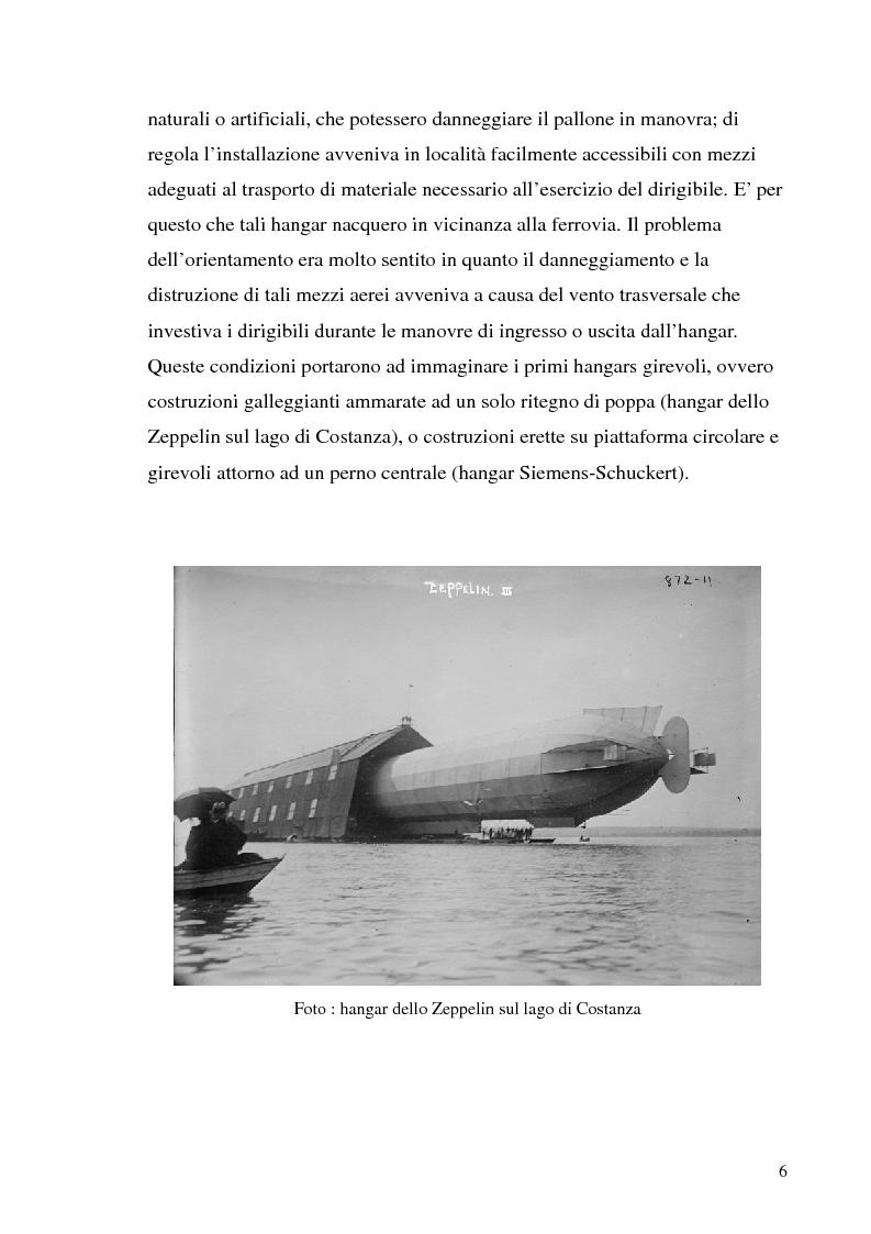 Anteprima della tesi: Hangar prefabbricato per il Boeing 737-300. Problematiche del trasporto e del montaggio, Pagina 6