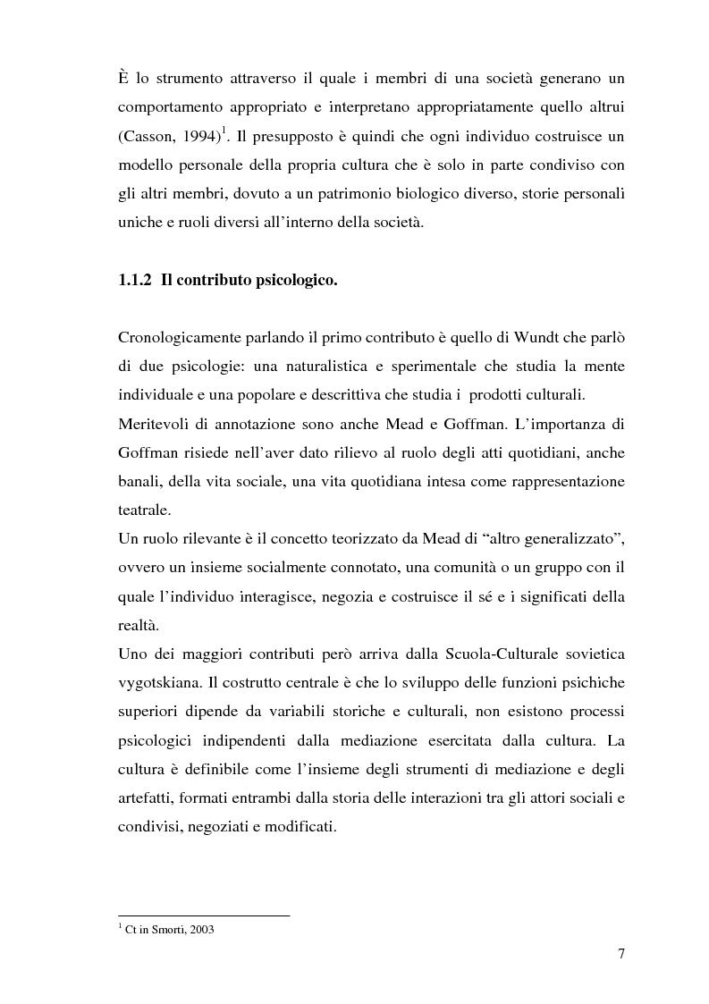 Anteprima della tesi: Etnografia organizzativa: analisi del processo decisionale in un servizio pubblico., Pagina 4