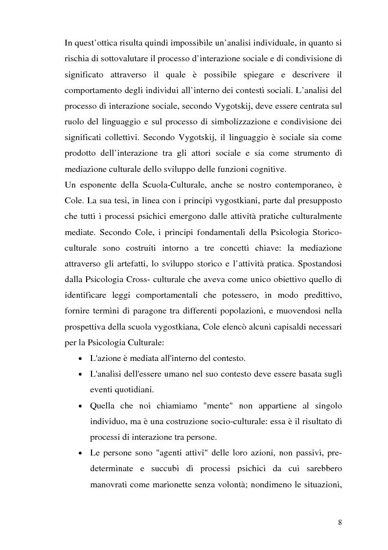Anteprima della tesi: Etnografia organizzativa: analisi del processo decisionale in un servizio pubblico., Pagina 5