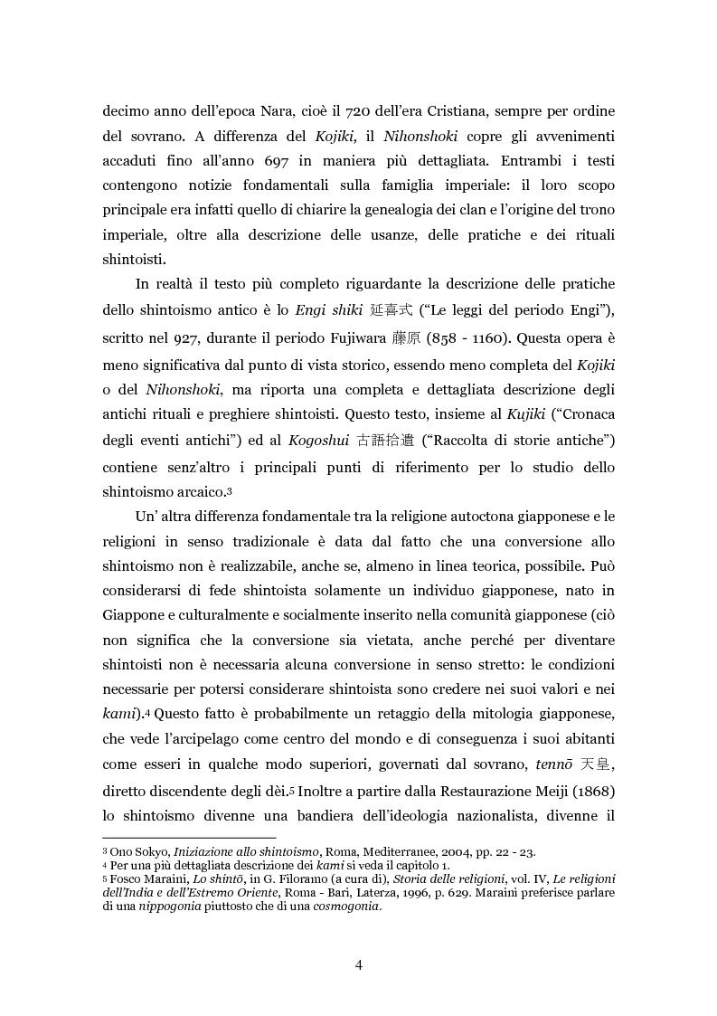 Anteprima della tesi: Lo shintoismo ieri e oggi, Pagina 4