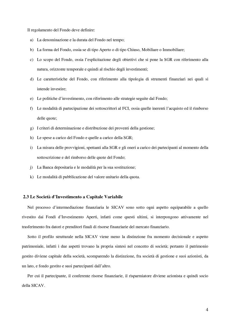 Anteprima della tesi: Gli Intermediari Finanziari: La Banca, Pagina 4