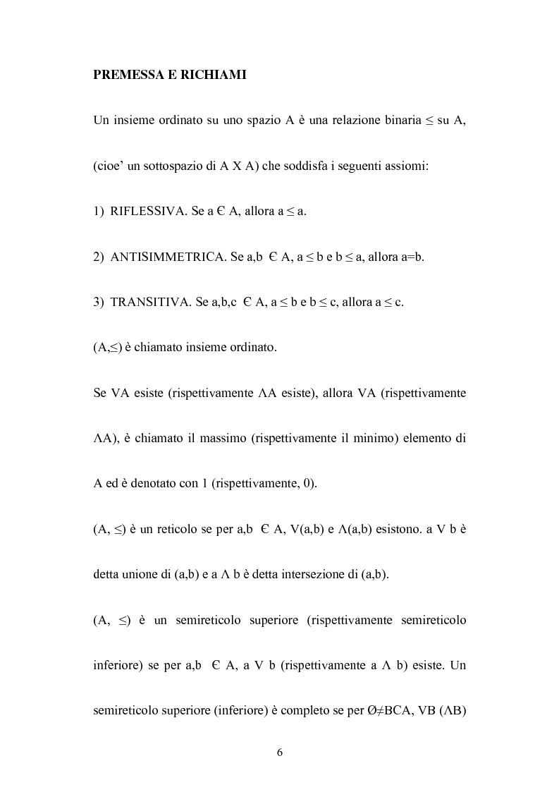 Anteprima della tesi: Le algebre booleane, Pagina 6