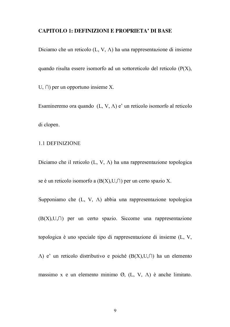 Anteprima della tesi: Le algebre booleane, Pagina 9