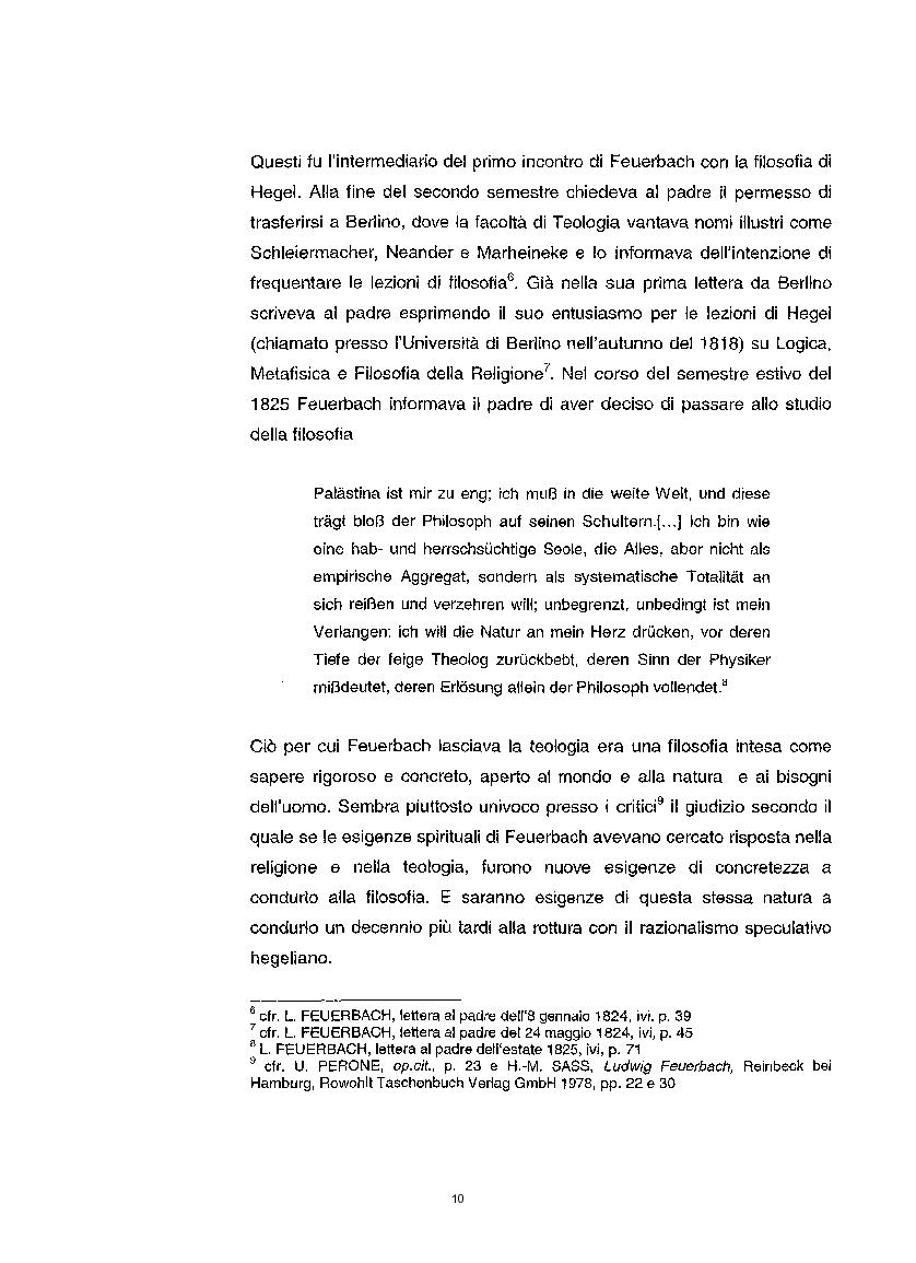 Anteprima della tesi: La questione etica nel pensiero di Ludwig Feuerbach, Pagina 3
