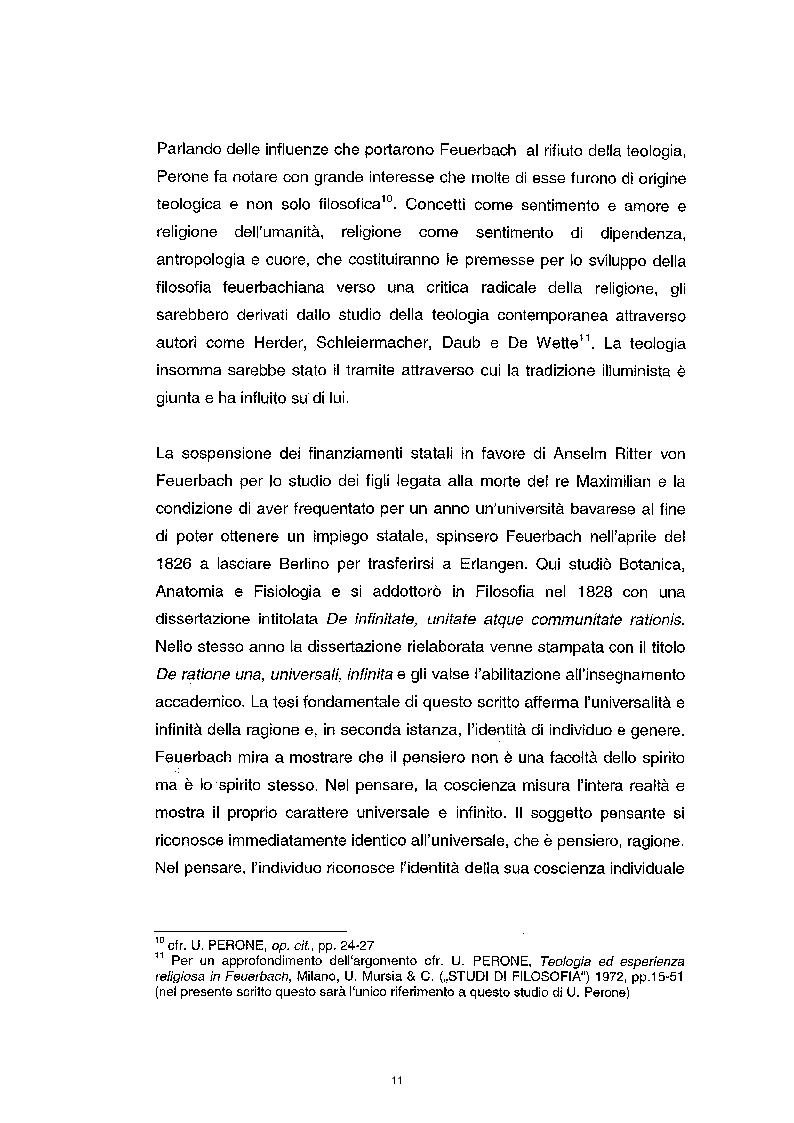 Anteprima della tesi: La questione etica nel pensiero di Ludwig Feuerbach, Pagina 4