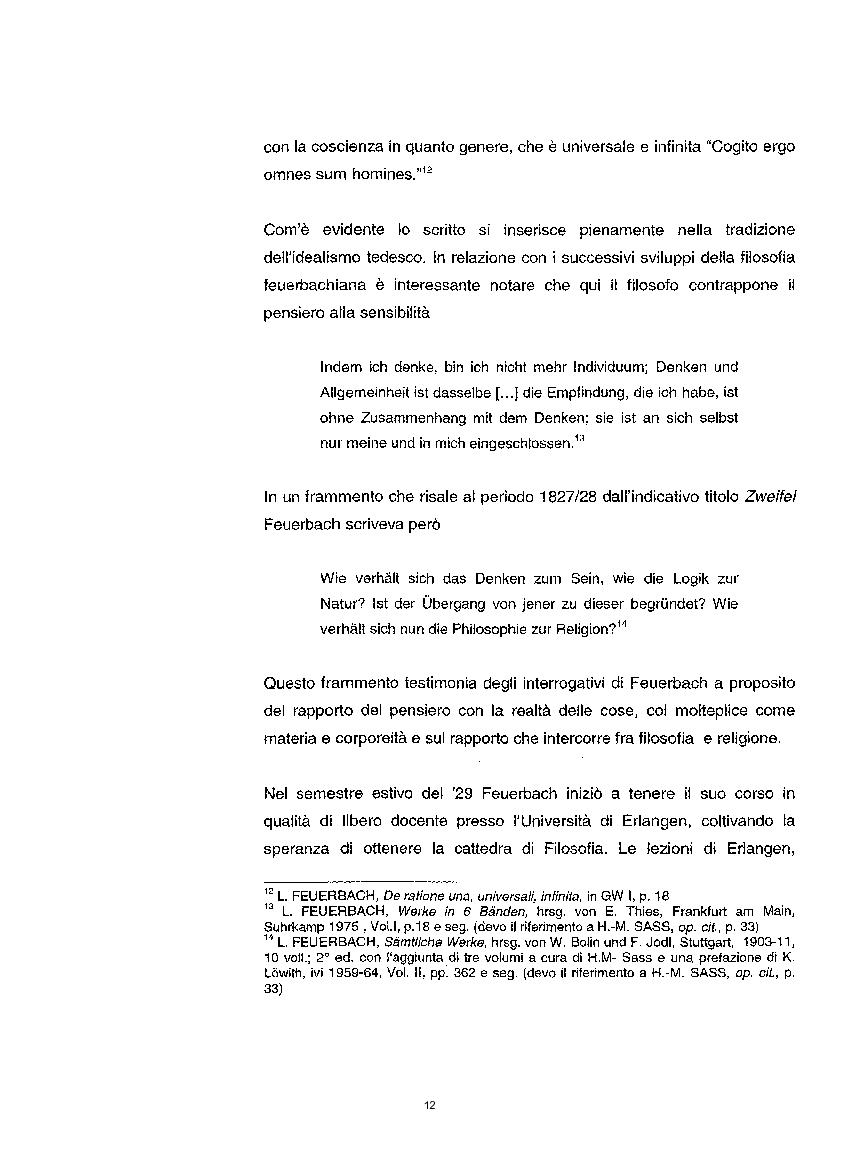 Anteprima della tesi: La questione etica nel pensiero di Ludwig Feuerbach, Pagina 5