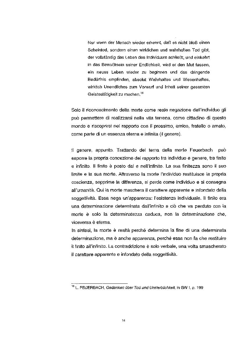 Anteprima della tesi: La questione etica nel pensiero di Ludwig Feuerbach, Pagina 7