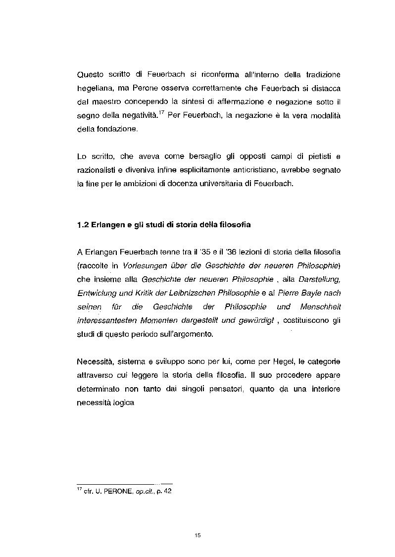 Anteprima della tesi: La questione etica nel pensiero di Ludwig Feuerbach, Pagina 8