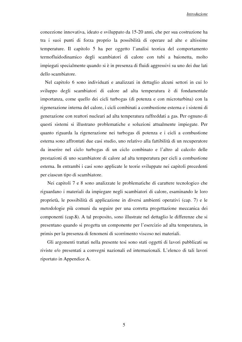 Anteprima della tesi: Modelli per l'analisi di scambiatori di calore ad alta temperatura, Pagina 6