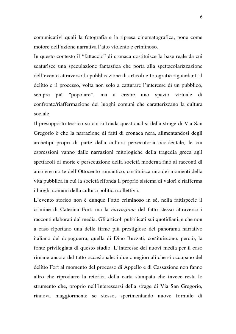 Anteprima della tesi: Rina Fort e il massacro di via san Gregorio: donne e violenza nell'Italia del dopoguerra, Pagina 2