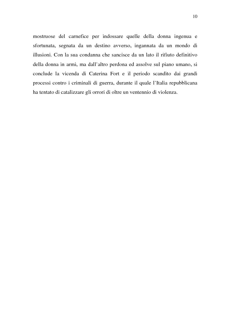 Anteprima della tesi: Rina Fort e il massacro di via san Gregorio: donne e violenza nell'Italia del dopoguerra, Pagina 6