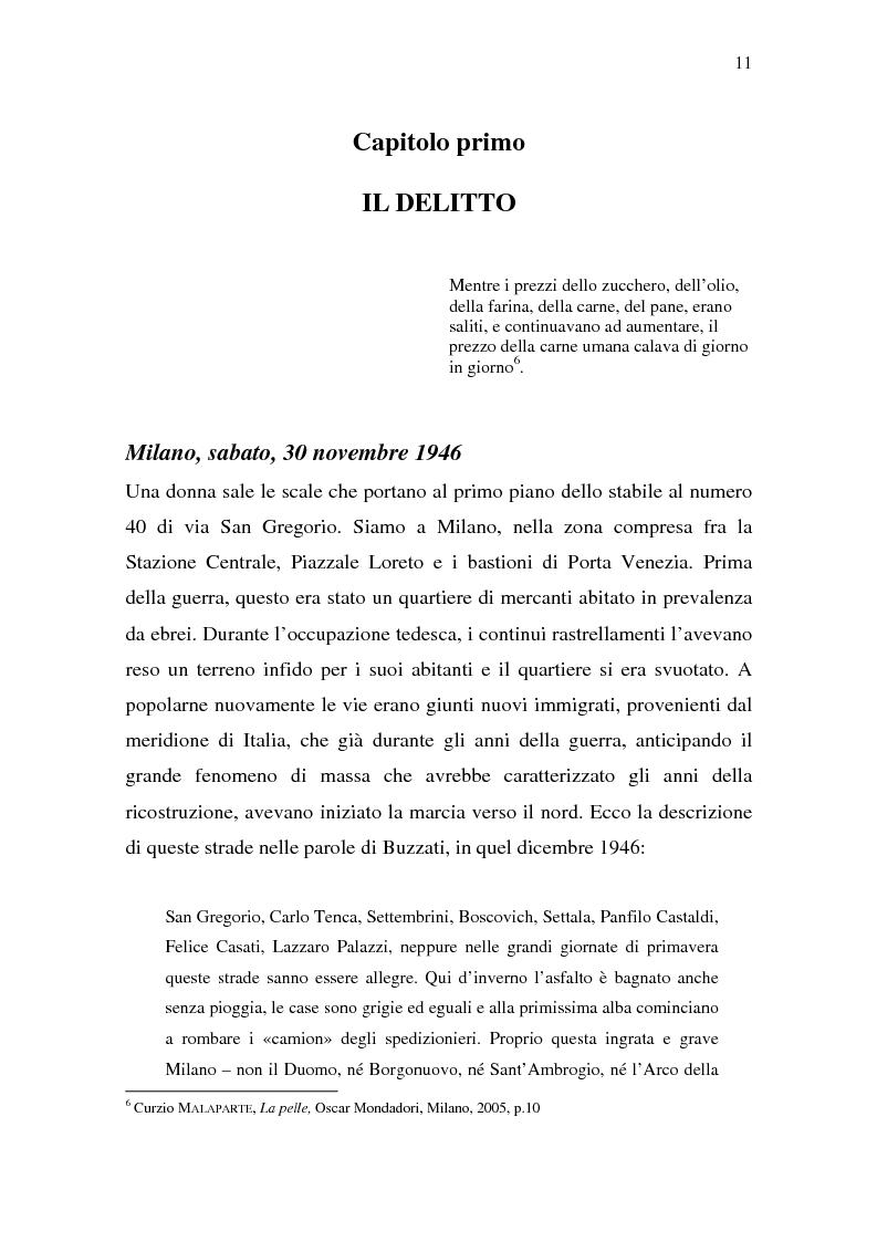 Anteprima della tesi: Rina Fort e il massacro di via san Gregorio: donne e violenza nell'Italia del dopoguerra, Pagina 7
