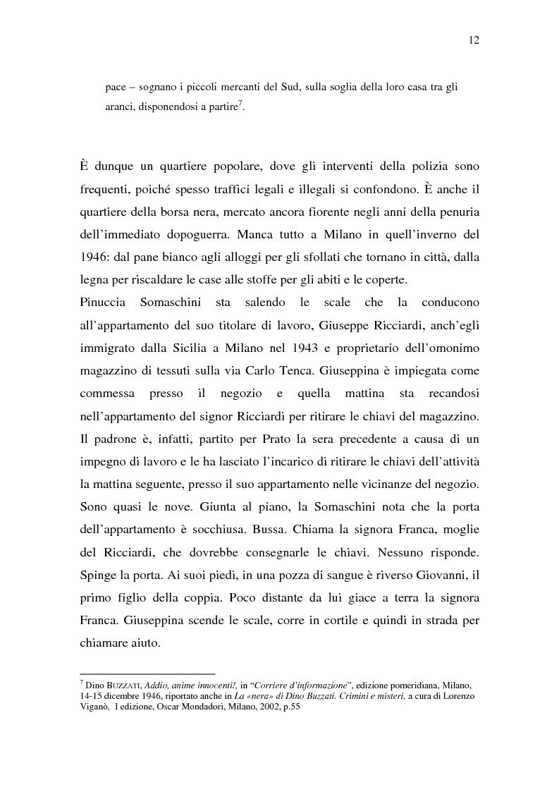 Anteprima della tesi: Rina Fort e il massacro di via san Gregorio: donne e violenza nell'Italia del dopoguerra, Pagina 8