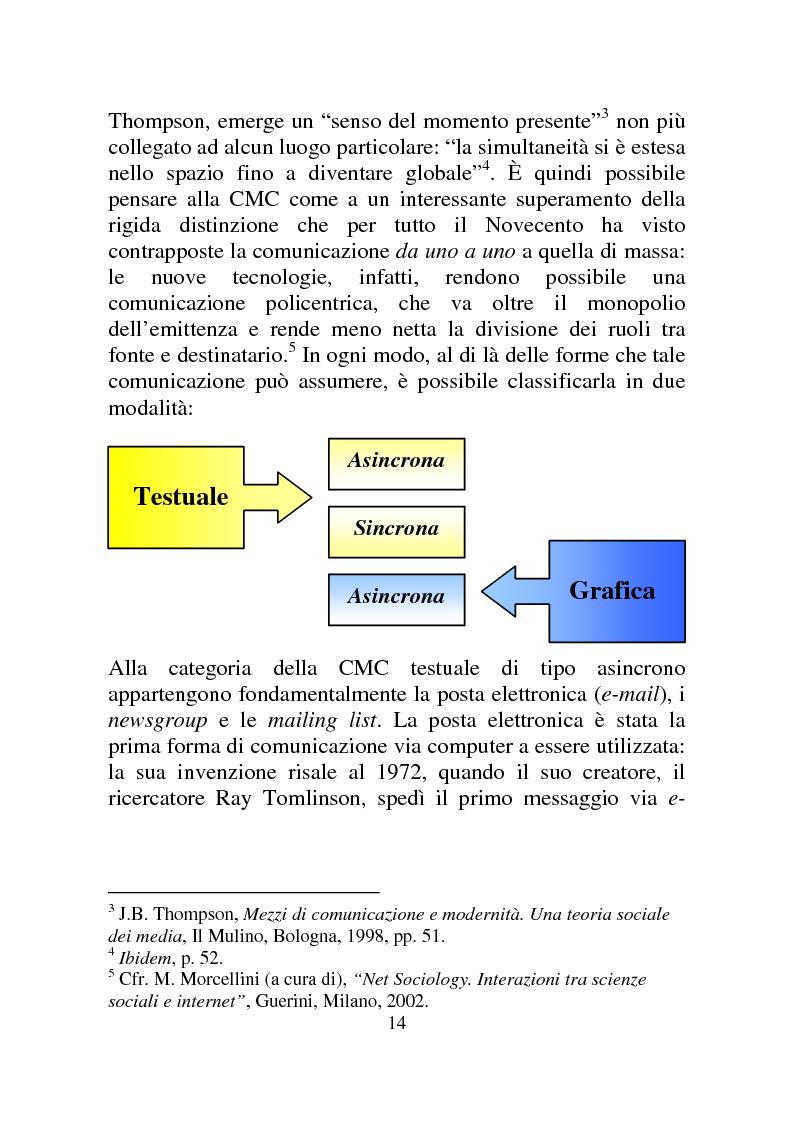 Anteprima della tesi: Weblog: diari senza lucchetti. Quando l'intimo diviene pubblico., Pagina 8