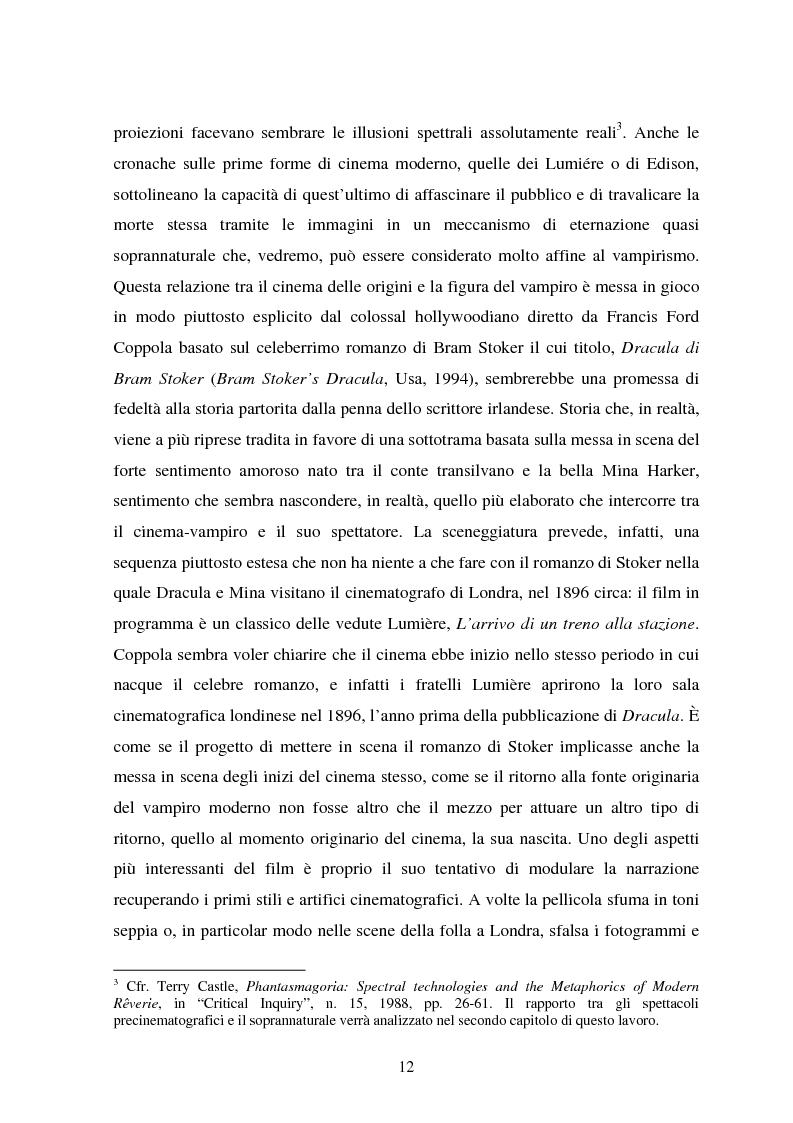 Anteprima della tesi: La condizione vampirica del cinema, Pagina 12