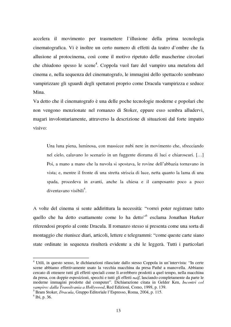 Anteprima della tesi: La condizione vampirica del cinema, Pagina 13