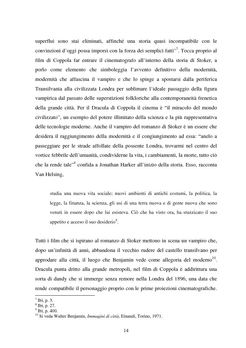 Anteprima della tesi: La condizione vampirica del cinema, Pagina 14