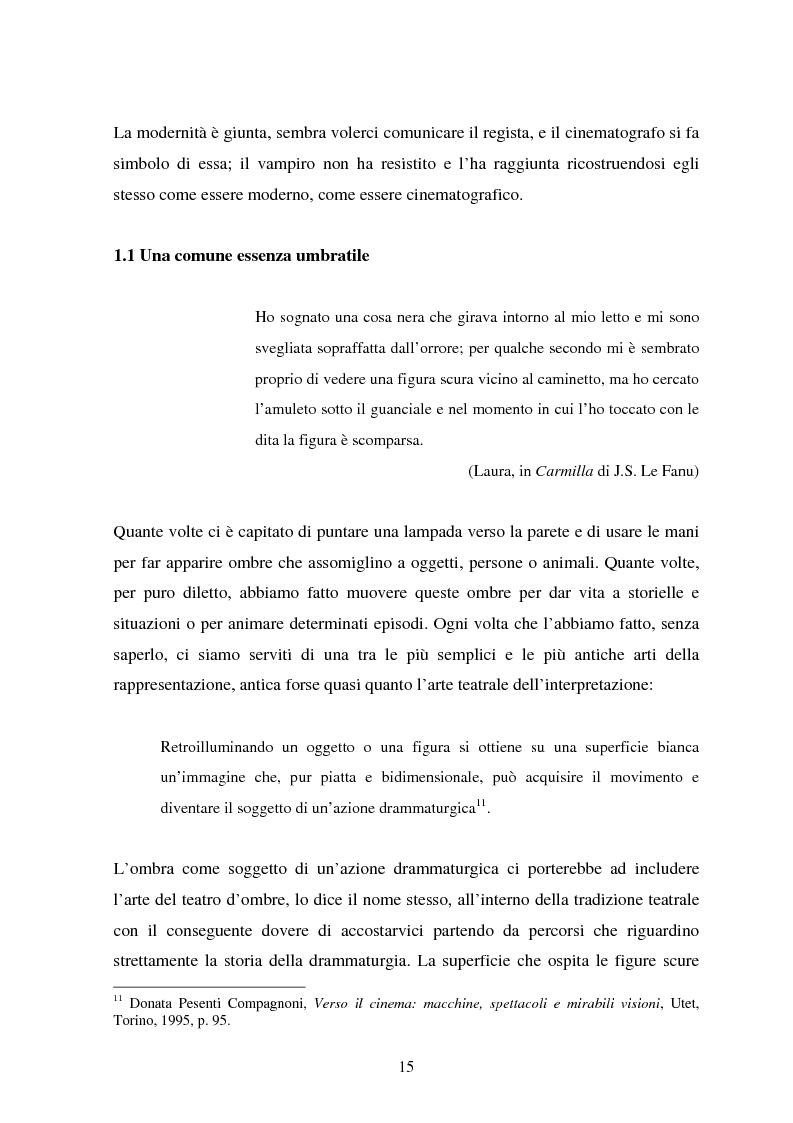 Anteprima della tesi: La condizione vampirica del cinema, Pagina 15