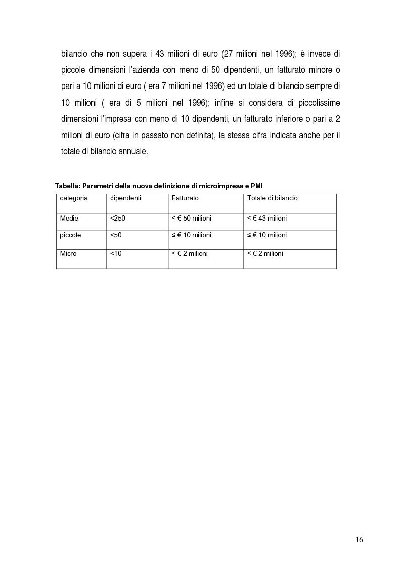 Anteprima della tesi: Basilea 2, rischi e opportunità per l'imprese italiane. Il contributo positivo della riforma societaria., Pagina 11