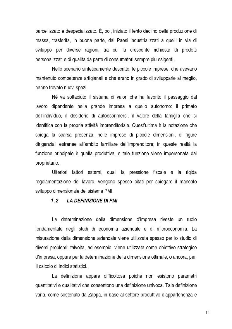 Anteprima della tesi: Basilea 2, rischi e opportunità per l'imprese italiane. Il contributo positivo della riforma societaria., Pagina 6
