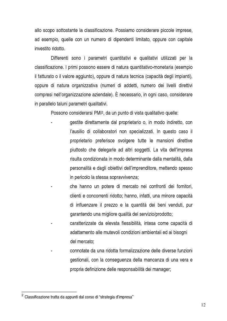 Anteprima della tesi: Basilea 2, rischi e opportunità per l'imprese italiane. Il contributo positivo della riforma societaria., Pagina 7