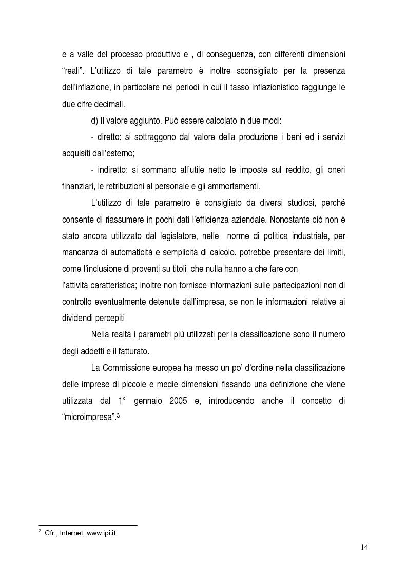 Anteprima della tesi: Basilea 2, rischi e opportunità per l'imprese italiane. Il contributo positivo della riforma societaria., Pagina 9