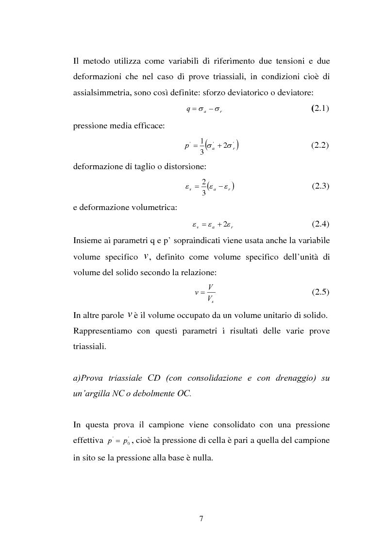 Anteprima della tesi: Influenza della velocità di deformazione in prove triassiali su bentonite dauna ai fini del calcolo di stabilità dei pendii, Pagina 7