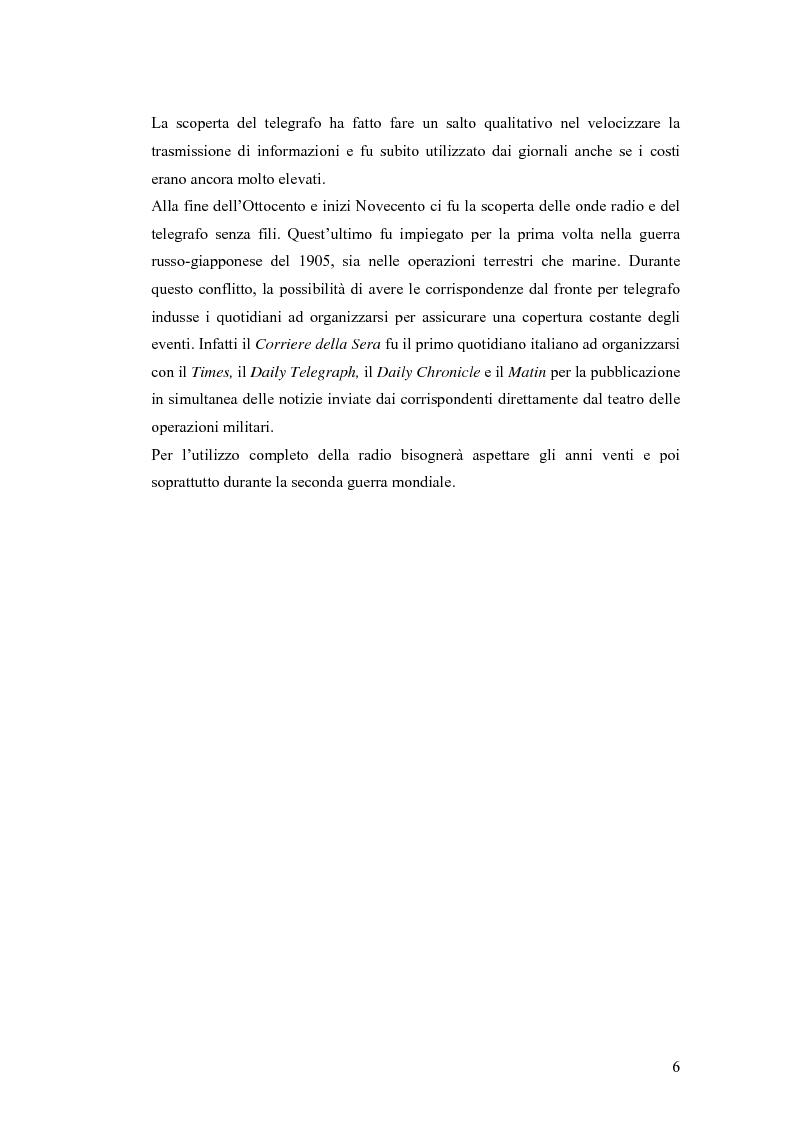 Anteprima della tesi: Informazione e mass media durante i conflitti bellici, Pagina 5