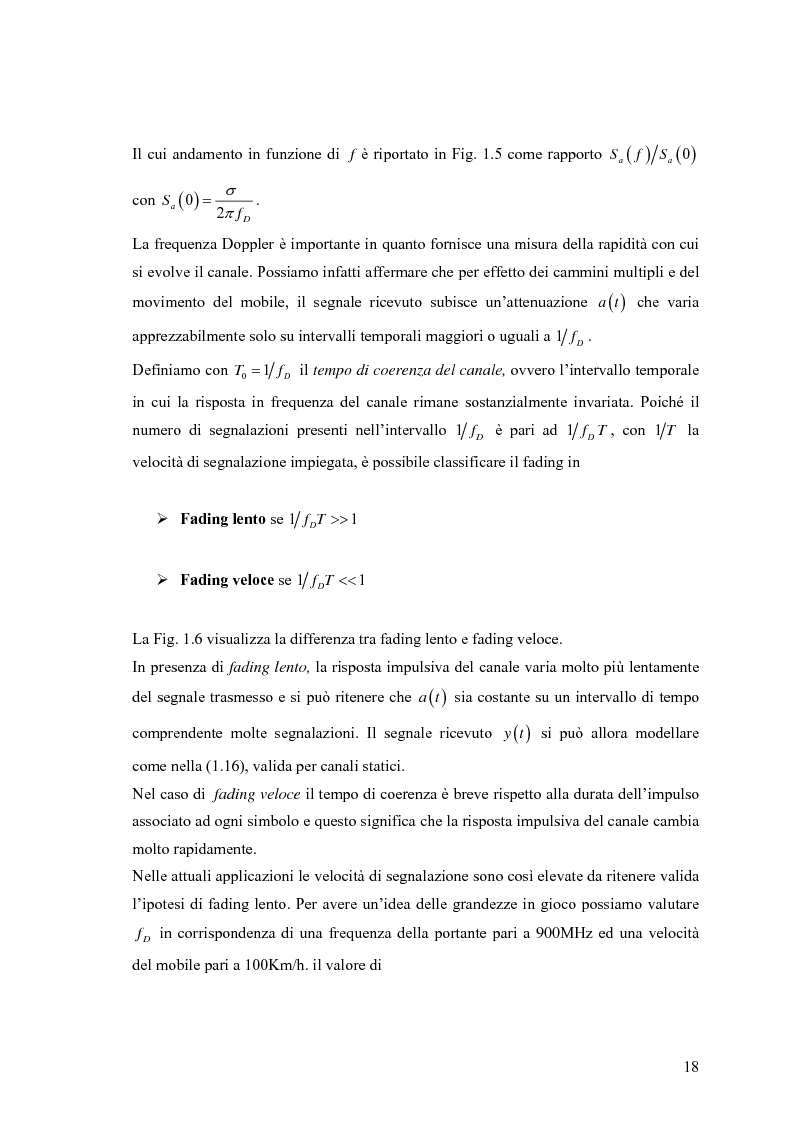 Anteprima della tesi: Schemi di Codifica per Sistemi di Trasmissione Multiple Input Multiple Output, Pagina 11