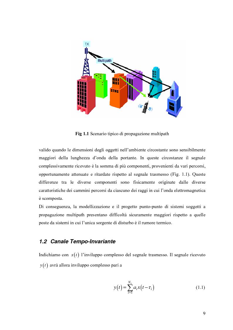Anteprima della tesi: Schemi di Codifica per Sistemi di Trasmissione Multiple Input Multiple Output, Pagina 2