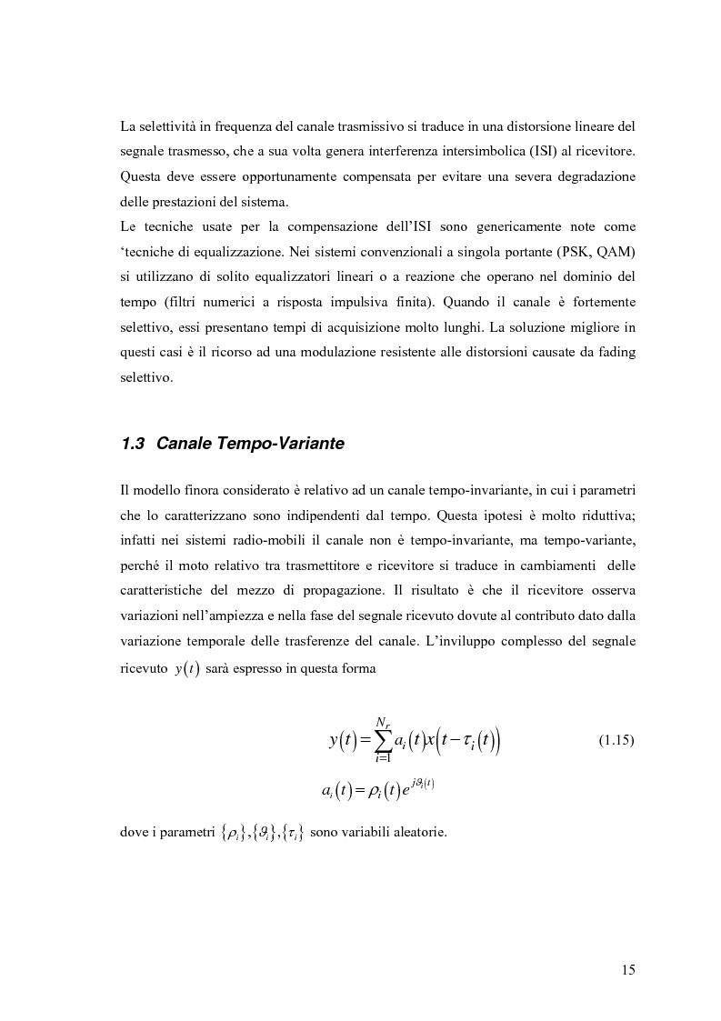 Anteprima della tesi: Schemi di Codifica per Sistemi di Trasmissione Multiple Input Multiple Output, Pagina 8