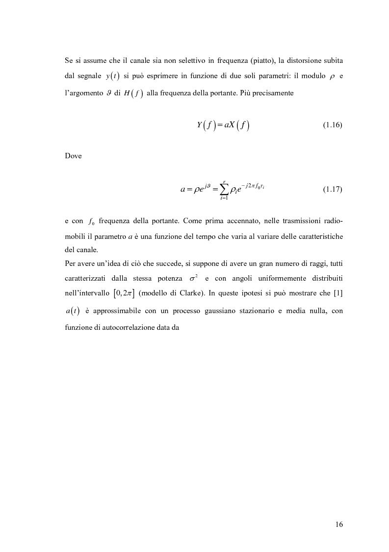 Anteprima della tesi: Schemi di Codifica per Sistemi di Trasmissione Multiple Input Multiple Output, Pagina 9